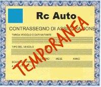 Assicurazione RC Auto temporanea