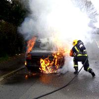 furto incendio auto