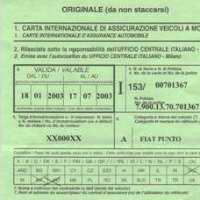 Carta verde per andare in svizzera assicurazioni blog for Allianz condizioni generali di assicurazione