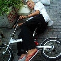 guida ebbrezza bicicletta